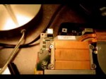 Laptop power tip fix! Toshiba Satellite DC jack solder Mixcat @ work! Project Power tip