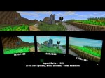 "Minecraft – Triple Monitor Showcase ""Amd Eyefinity / Nvidia Surround."""