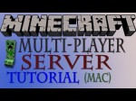 How To Make a Minecraft Multiplayer Server 1.1 (Mac) – HD