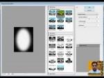 How to Create Brush Stroke in Adobe Photoshop CS3 in Urdu and Hindi