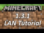 Minecraft Tutorial – LAN Server (1.3.1 Update)