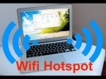 Turn Your Mac into a Wifi Hotspot for your Mobile Devices