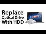 [How To] Replace Optical Drive With HDD / SSD MacBook Pro 2012 – Caddy Installation