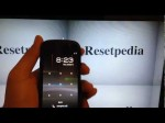 Google Nexus S Sprint: Hard Reset Password Removal Factory Restore Tutorial