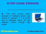 Blue Screen Fix – How to Fix Blue Screen Error 2013