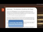 SEO, Search Engine Optimization EASY with WordPress SEO Plugin, SEOPressor v5 (Version 5) Review