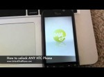 "How to Unlock HTC phone – locate IMEI & transfer internet / Remove ""SIM network Unlock"" Instructions"