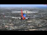 Exploding FSX Plane