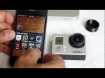 GoPro Hero3 WiFi Connectivity with iPhone and Android Google Nexus – Setup