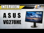 "Newegg TV: ASUS VG278HE 27"" 144Hz LCD Monitor Demo with JJ"