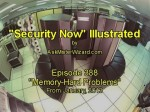 Security Now Illustrated, Episode 388: Memory-Hard Problems by AskMisterWizard