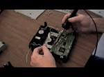 How to change the circuit board in a Ben Q/ Phillips dvd drive for the XBox 360