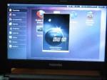 Toshiba AC100 (Tegra 2) running Ubuntu 10.10 – Apps demo