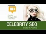 Celebrity Website SEO Audit