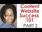Content Website Success – Part 2 (SEO, Link Building and More)