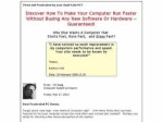 New* Fast PC Secrets – Eliminate Slow Computer Problems 13 Vids Review
