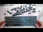 Repair Laptop Keyboard Water damaged Wasserschaden  Part 1 Disassembly