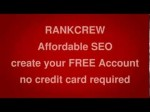 RankCrew SEO Services  –  Join for FREE