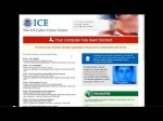 """How to Remove """"The ICE Cyber Crime Center, Your computer has been blocked"""" virus"""