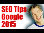 SEO Tips for Google in 2015